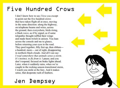 Poem by Jen Dempsey Design by Andy Knowlton