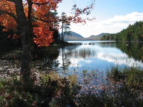 Autumn at Eagle Lake, Acadia National Park. Photo courtesy of National Park Service, US Dept of the Interior